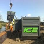 ICE 14RF Crane Suspended Vibratory Hammer