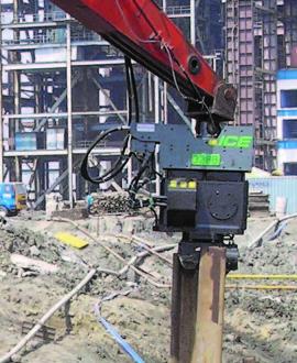 ICE 328B Excavator Mounted Vibratory Hammer