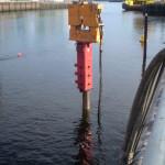 25M Extracting Concrete Piles