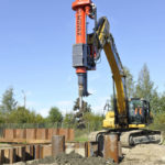 Movax piling drills