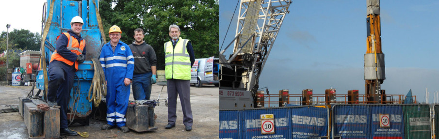 Bespoke Piling Solutions from Watson and Hillhouse